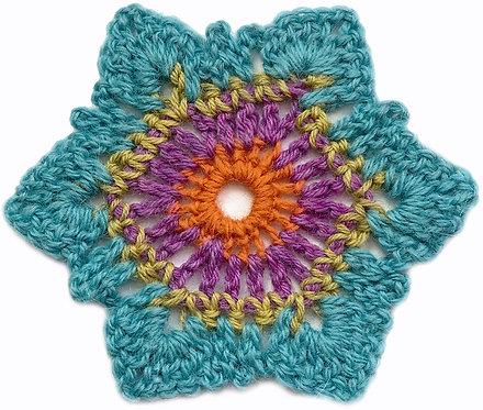 Bella Crochet Motif PDF Pattern