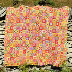 Cornucopia - Crochet Blanket PDF Pattern