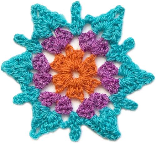 Elizabeth Crochet Motif PDF Pattern