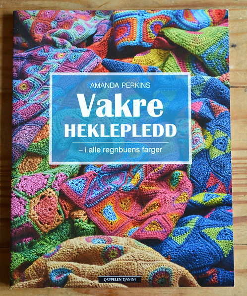 Vakre Heklepledd - Crochet Blankets Pattern Book