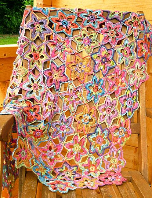Lily - Crochet Blanket PDF Pattern