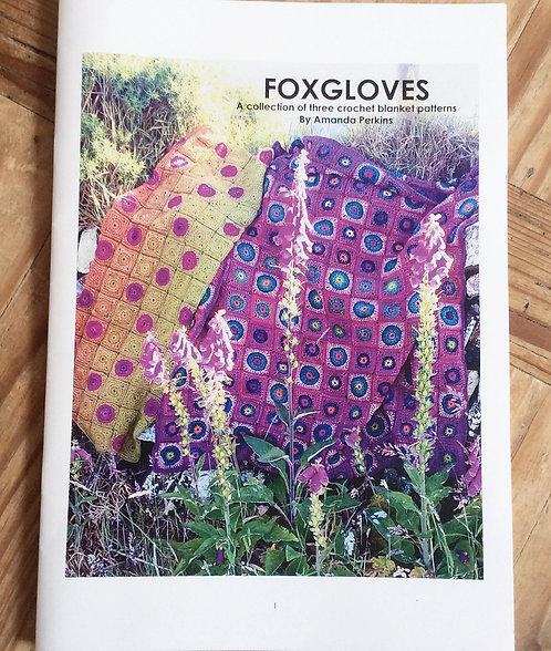 Foxgloves Crochet Blanket Booklet