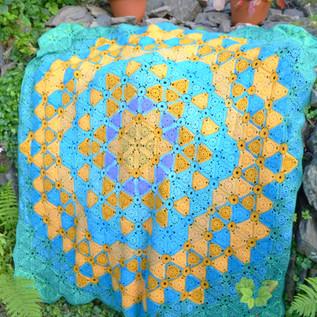 Cote de Lynmouth Crochet Blanket