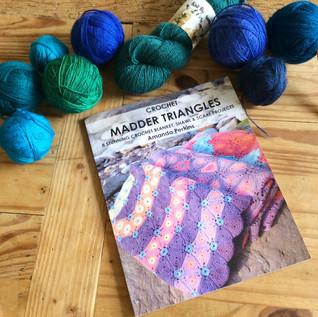 Tah Dah Crochet Madder Triangles