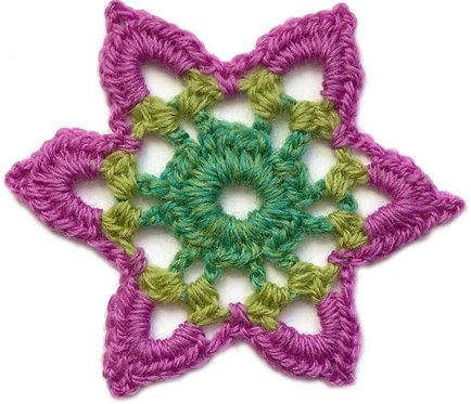 Clementine Crochet Motif PDF Pattern