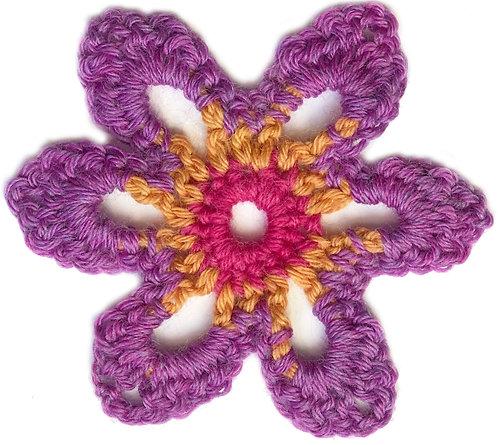 Daisy Crochet Motif PDF Pattern