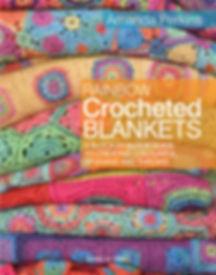 Rainbow Crocheted Blankets UK Cover-1sma