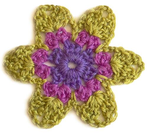 Anemone Crochet Pattern PDF