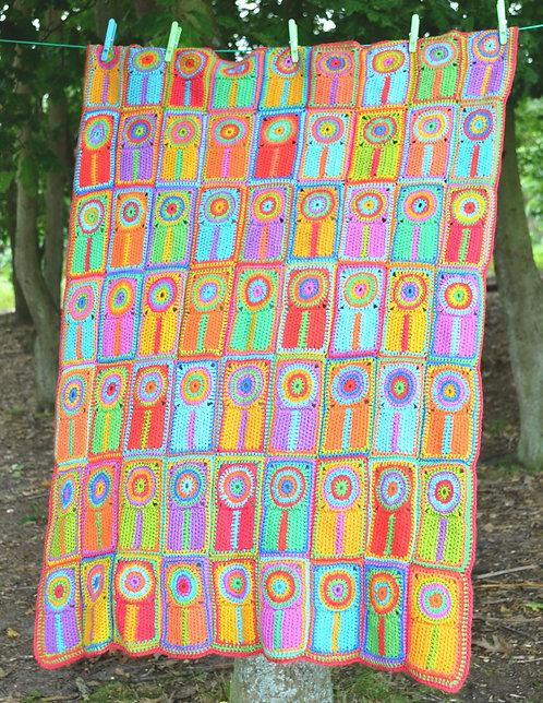 Baby Lollipops - Crochet Blanket PDF Pattern