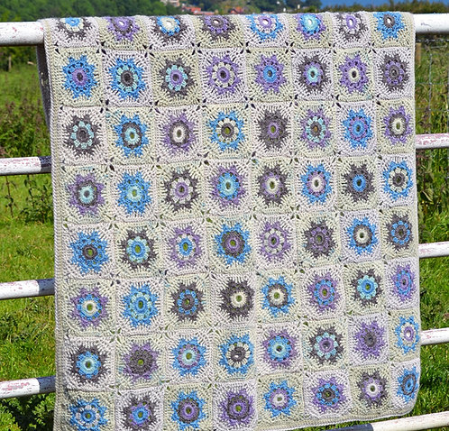 Mabel - Crochet Blanket PDF Pattern