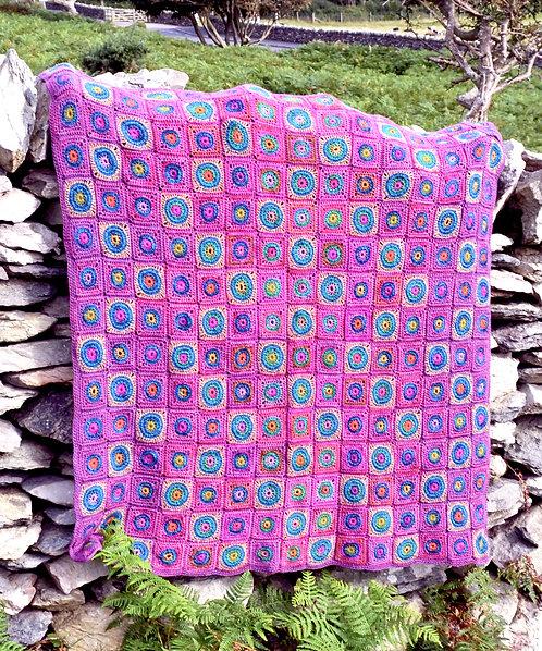 Foxgloves Handmade Crochet Blanket