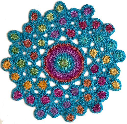 Medium Handmade Crochet Mandala 2