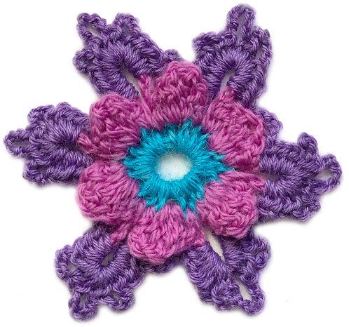 Ermintrude Crochet Motif PDF Pattern