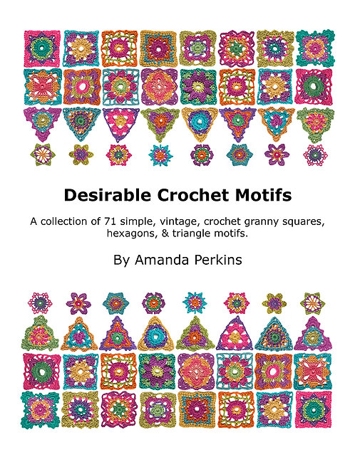 Desirable Crochet Motif's Book