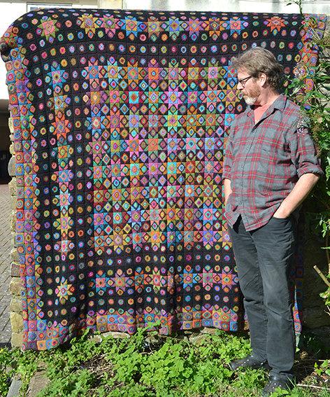 Phil's Blanket - Crochet Blanket PDF Pattern