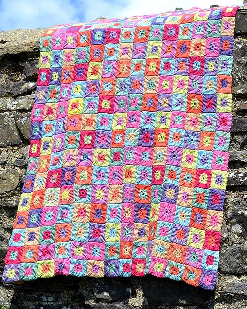 Kiki - Crochet Blanket PDF Pattern