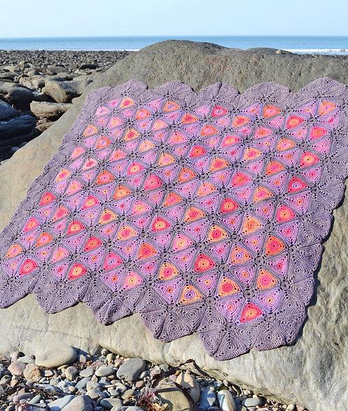 Leechi - Crochet Blanket PDF Pattern