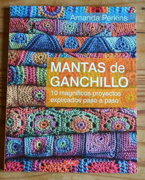 Mantas de Ganchillo - Crochet Blankets Pattern Book