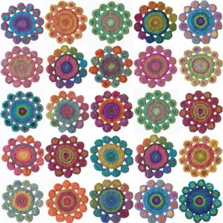 Crochet Mandala's on Etsy