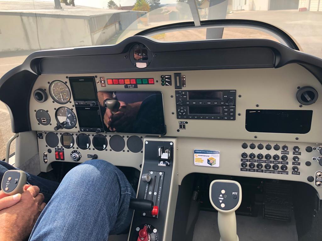 Hochmodernes Cockpit