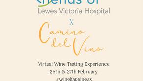 Virtual Wine Tasting Charity Fundraiser