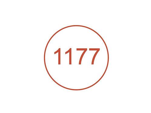 Número 1177