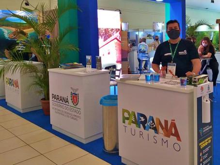 Região dos Campos Gerais é divulgado na maior feira de turismo do Paraná