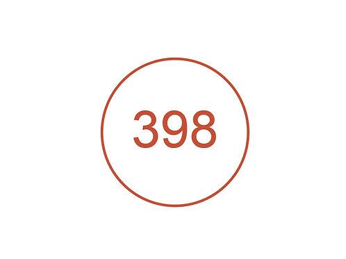 Número 398