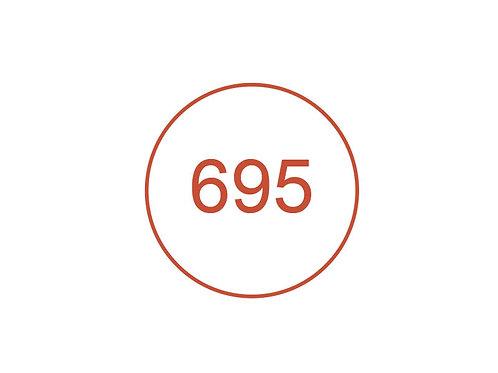 Número 695