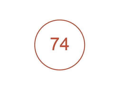 Número 74