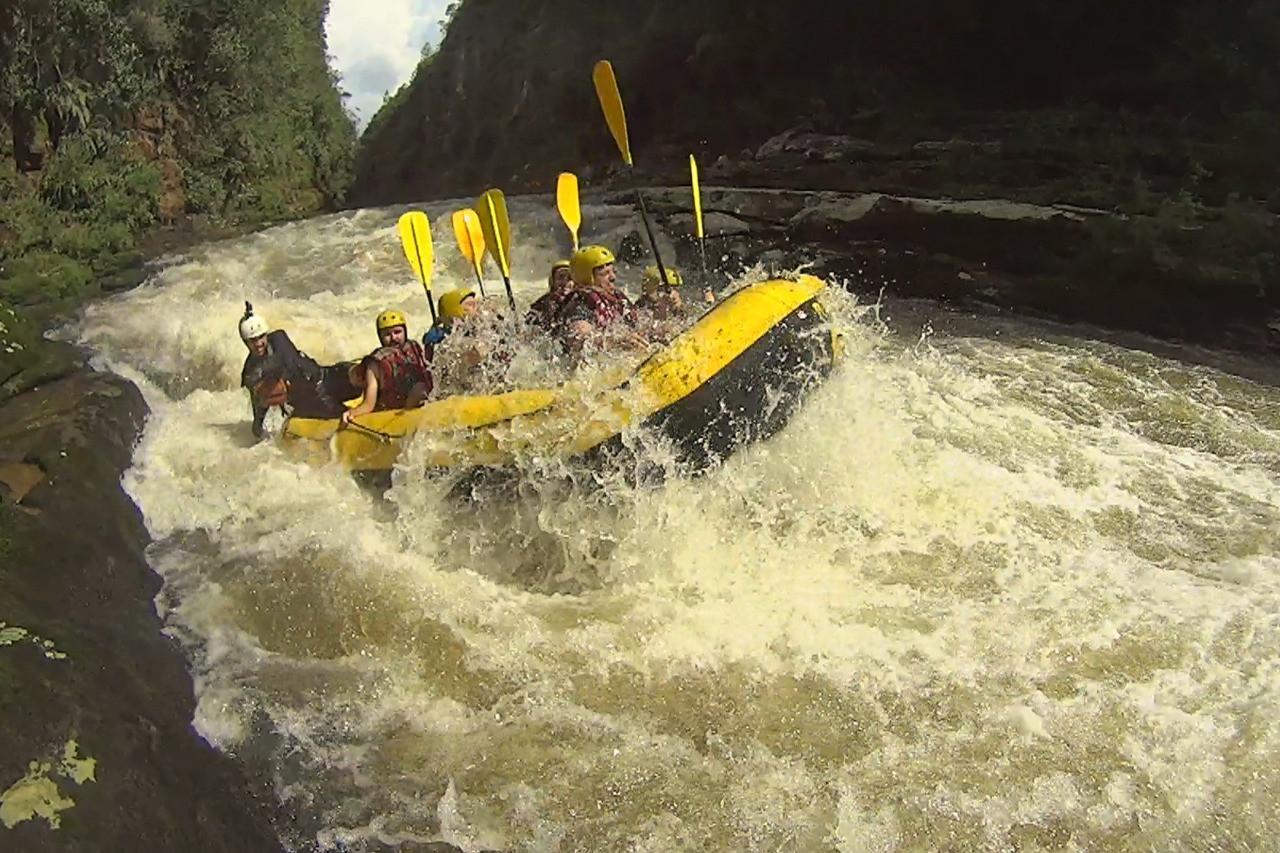Expedição Rafting Encanadão
