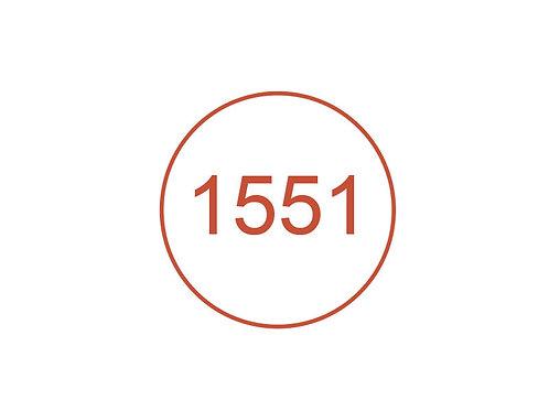 Número 1551