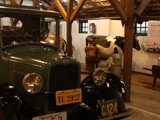 Parque Histórico abre ao público exposição do Leite com nova expografia