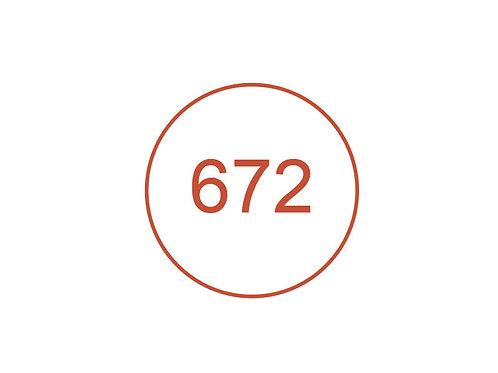 Número 672