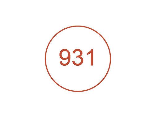 Número 931