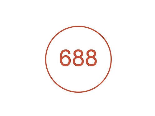 Número 688