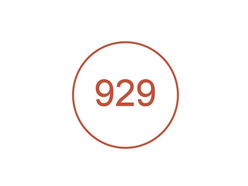 Número 929