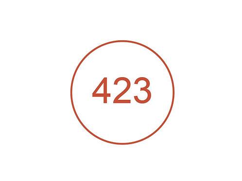 Número 423