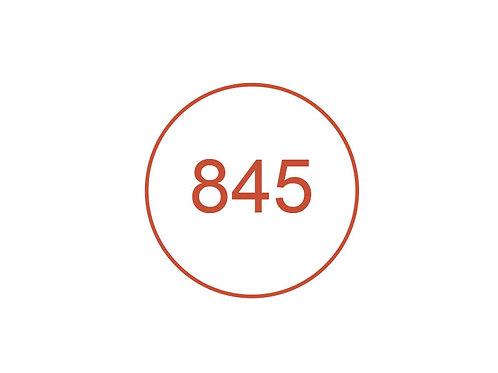 Número 845