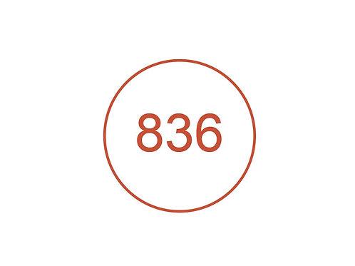 Número 836