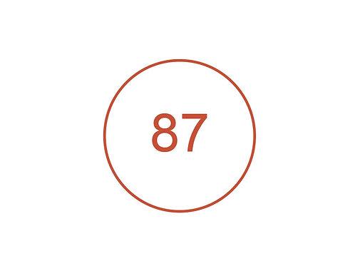 Número 87