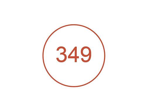 Número 349