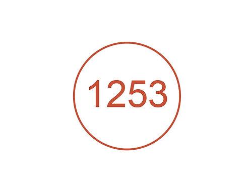 Número 1253