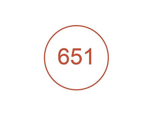 Número 651