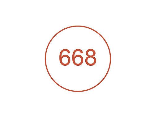Número 668