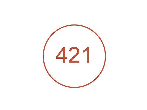 Número 421
