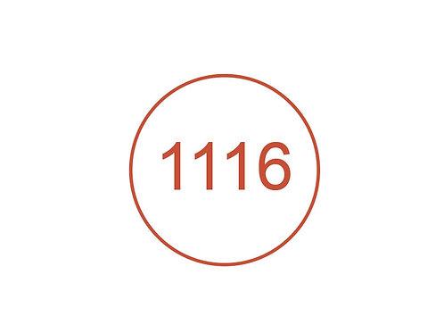Número 1116