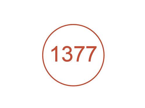 Número 1377