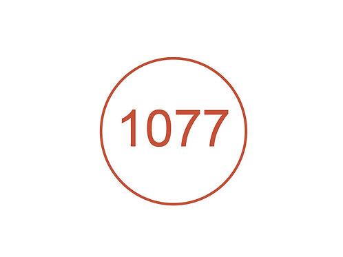 Número 1077