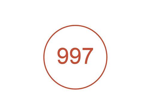 Número 997